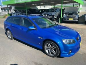 2011 Holden Commodore SV6 Series 2 Voodoo Blue 6 Speed Automatic Wagon Casino Richmond Valley Preview