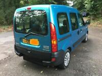 Renault Kangoo 1.2 petrol disabled vehicle ELECTRIC WINCH SHOWROOM CONDITION