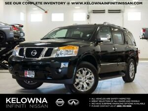 2015 Nissan Armada Platinum Edition w/Captain Chairs 7 Passenger