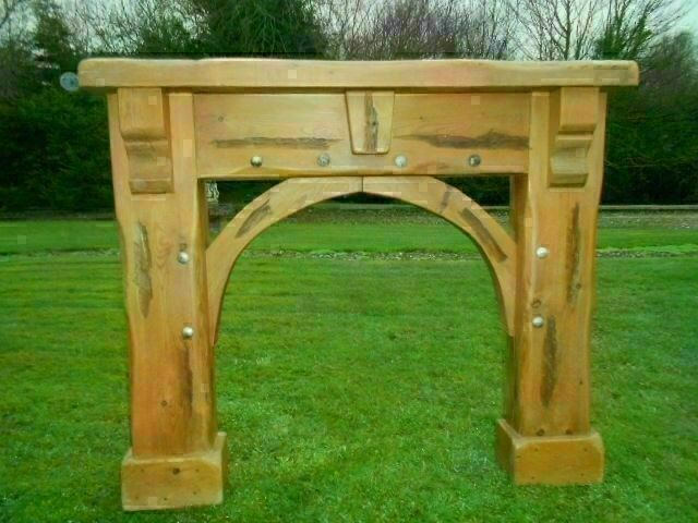 Chunky Pine Fire Surround In Londonderry County