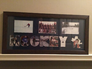 Hockey Collage Photo Frame