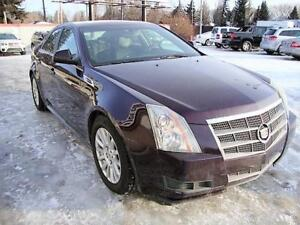 2010 Cadillac CTS Sedan AWD w/Htd Lthr/Pano Roof/Remote Starter