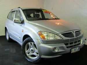 2006 Ssangyong Kyron D100 M320 Silver 5 Speed Sports Automatic Wagon Derwent Park Glenorchy Area Preview