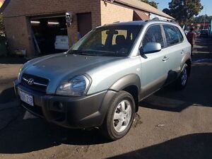 2006 Hyundai Tucson Green 4 Speed Auto Selectronic Wagon Campbelltown Campbelltown Area Preview