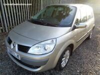 RENAULT SCENIC DYNAMIQUE 2007 1.6 PETROL 5 DOOR 55,174 MILES 12 MONTHS M.O.T FULL SERVICE