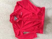 Regatta lightweight red fleece, age 9/10