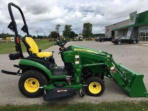 2016 John Deere 1025R Compact Tractor