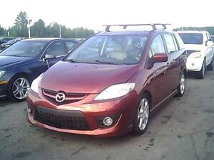 2010 MAZDA 5 GT, 6 PASSAGER, TOIT, $4995