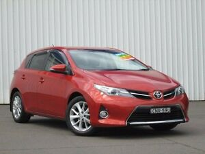 2013 Toyota Corolla ZRE182R Ascent Sport S-CVT Orange 7 Speed Constant Variable Hatchback Kings Park Blacktown Area Preview