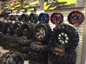 ALL ATV / UTV TIRES ON SALE COME AND SEE US .