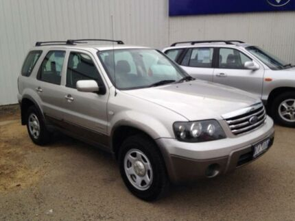 2007 Ford Escape ZC XLS Silver 4 Speed Automatic Wagon Bairnsdale East Gippsland Preview