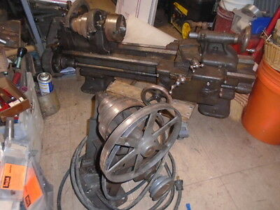 Machinist Tool Lathe Machinist South Bend 9 Lathe With Partial Taper Attachment