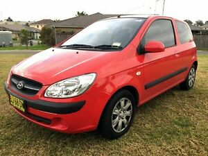 2010 Hyundai Getz TB MY09 SX Red 5 Speed Manual Hatchback Lake Illawarra Shellharbour Area Preview