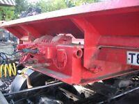 Oldbury Tandem Axle Trailer Front Mounted Electric Winch, Steel Suspension