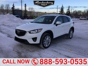 2015 Mazda CX-5 AWD GT Accident Free,  Leather,  Sunroof,  Back-