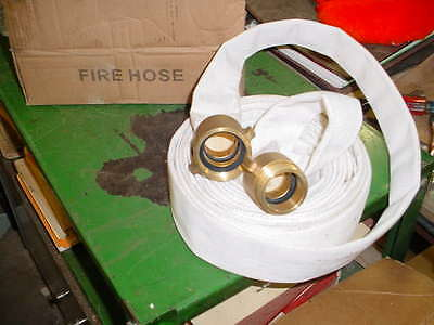 25 Feet of Universal Fire Hose - Boat / Dock Bumper - Repurposed 1 1/2'' dia new