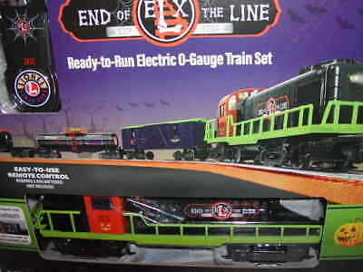 Lionel 6-85253 End of the Line Halloween LC Remote BT Train Set MIB O 027 New (Halloween Train Set)