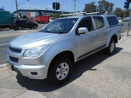 2015 Holden Colorado RG MY15 LT Crew Cab 4x2 Silver 6 Speed Sports Automatic Utility Fyshwick South Canberra Preview
