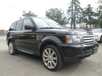 2008 Land Rover Range Rover Sport SUPERCHARGED NAVIGATION ACCIDE