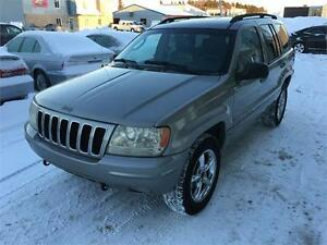 2002 Jeep Grand Cherokee Limited, Cuir, Toit, 4.7L,TPS INCL
