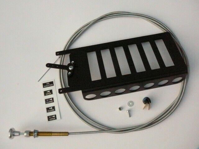 KIT Shutter for Oil Radiator  ROTAX 912 UL (80 Hp) engine