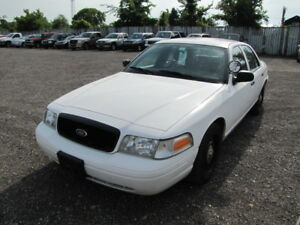 SOLD**2010 143600KM. PROPANE/GAS FORD CROWN VICTORIA POLICE