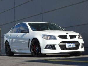 2013 Holden Special Vehicles ClubSport Gen-F MY14 R8 White 6 Speed Manual Sedan