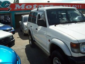 2000 Mitsubishi Pajero NL Escape White 4 Speed Automatic Wagon Capalaba West Brisbane South East Preview