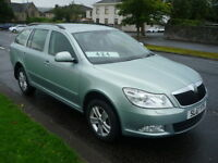 Skoda Octavia 2.0 TDI 16V 140BHP CR SE 4X4 **One Owner** (green) 2011