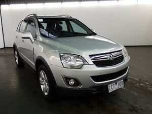 2012 Holden Captiva CG Series II 5 (4x4) Silver 6 Speed Automatic Wagon Albion Brimbank Area Preview