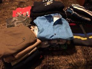 Boys Clothes, Sizes 10 to 14