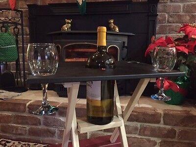 Folding Table Caddy - Folding Wine Table Caddy
