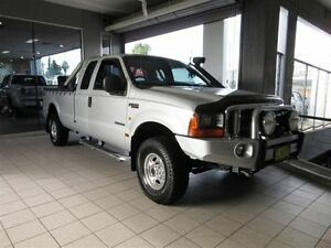 2004 Ford F250 RN XLT (4x4) Silver 4 Speed Automatic Thornleigh Hornsby Area Preview