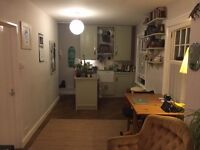 Lovely one bed bright flat for short term let in lower Clapton close to Hackney central station