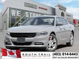 2017 Dodge Charger SXT AWD, EXTENDED WARRANTY, 229B/W