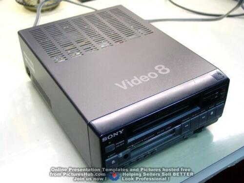 ROBUST Fully Restored SONY EV-C3 ( EV-A50 / EV-C40 ) 8mm Video8 VCR 90 Days Wrty