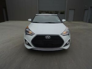 2016 Hyundai Veloster TURBO Navigation (GPS),  Leather,  Heated  Edmonton Edmonton Area image 2