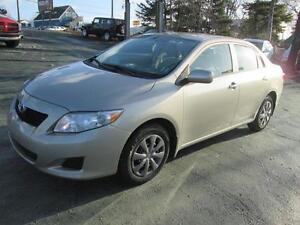 2009 Toyota Corolla CE 4 DR AUTOMATIC  44,000 KMS