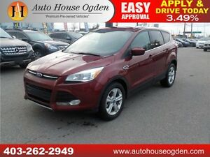2014 FORD ESCAPE SE 4WD ECOBOOST HEATED SEATS