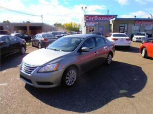 2014 NISSAN SENTRA SV 4 CYL CLEAN EASY CAR FINANCE