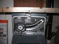 """CRAFTSMAN 10"""" Contractor Series Table Saw...1.5hp"""