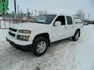 2012 CHEV COLORADO LT 4X4/RAIDER CANOPY WITH SIDE DOORS