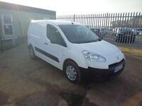 Peugeot Partner L 1 850 SE 1.6 HDI 92 BHP VAN DIESEL MANUAL WHITE (2013)