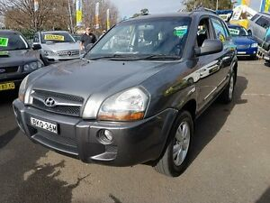 2009 Hyundai Tucson 08 Upgrade City SX Grey 4 Speed Automatic Wagon Campbelltown Campbelltown Area Preview