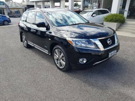2014 Nissan Pathfinder R52 MY14 Ti X-tronic 4WD Black 1 Speed Constant Variable Wagon Hybrid Bridgewater Adelaide Hills Preview