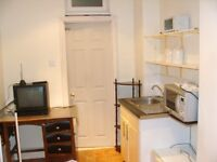 Available Now Ground Floor Bedsit /All Bills Included/Short walk to Southall BR Station & Shops