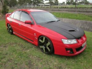 2005 Holden Commodore VZ Acclaim Red Hot 4 Speed Automatic Sedan Mayfield East Newcastle Area Preview