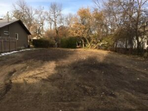 Vacant lot in mature area in Weyburn for sale.