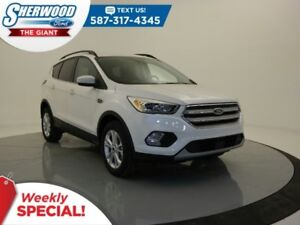2018 Ford Escape SEL 4WD- SYNC Connect, Leather, Safe/Smart Pack