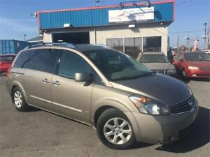 NISSAN QUEST 2009 AC/ MAGS/ 7 PASSAGERS/ CRUISE/ SIEG. CHAUFFANT